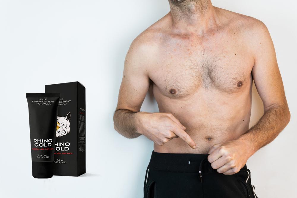 Rhino Gold Gel es un producto creado para hombres que sueñan con un bolígrafo más largo y grueso.